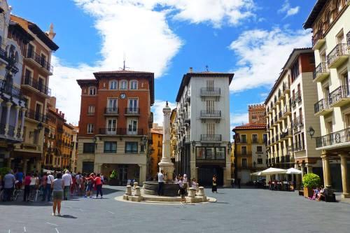 Plaza del Torico, la más emblemática de Teruel