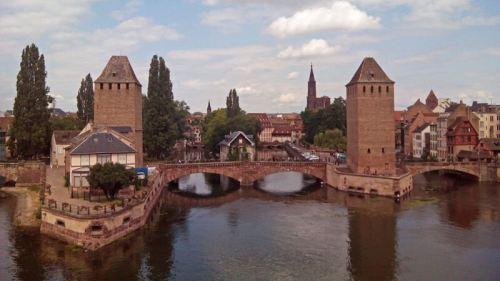 Puentes Cubiertos (Ponts Couverts) de Estrasburgo