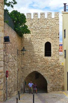 Portal de Daroca, uno de los escenarios de la leyenda de los Amantes de Teruel