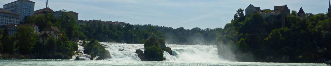 Guía de turismo completa y actualizada para viajar a las Cataratas del Rin, en Suiza