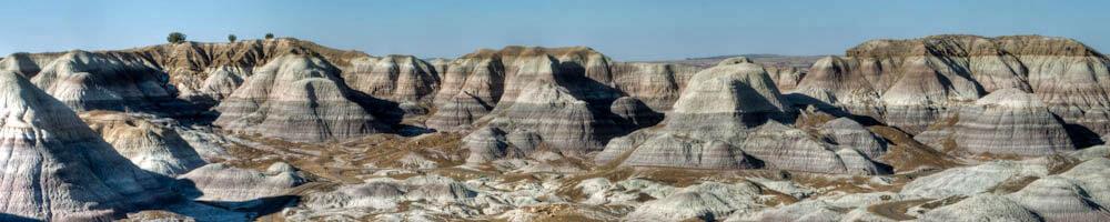 Guía de turismo con información y fotos para visitar Painted Desert o Desierto Pintado de Arizona