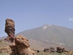 El Teide visto desde los Roques de García