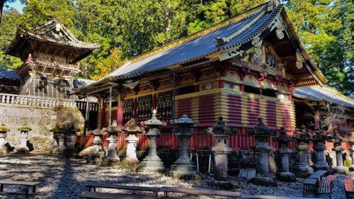Recintos sagrados del Santuario Toshogu en Nikko