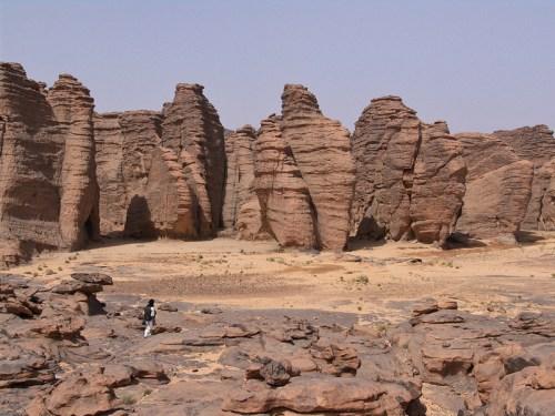 Conjunto montañoso del Tassili n'Ajjer