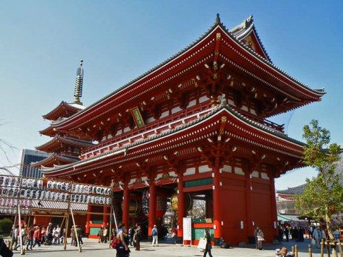 Templo Sensoji en Asakusa, el más antiguo de Tokio