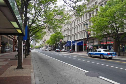 Calles de Filadelfia, una de las ciudades más visitadas de la costa este de los Estados Unidos