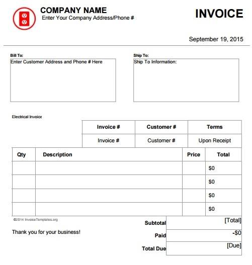 How do I get Invoices to have grids or alternating - QuickBooks
