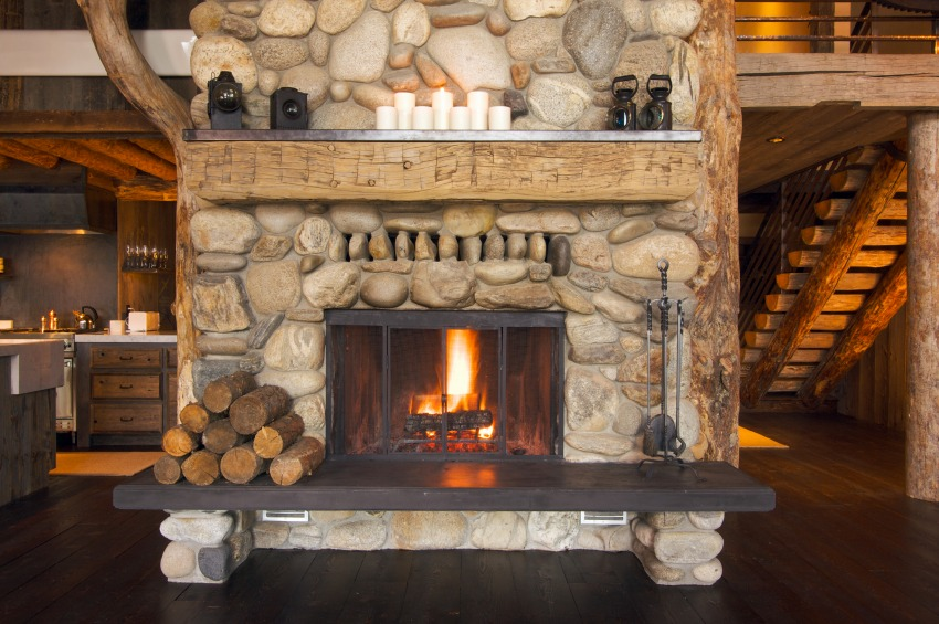 Wandverkleidung Stein Hinter Kaminofen How Eco Friendly Is Your Fireplace Zing Blog By Quicken