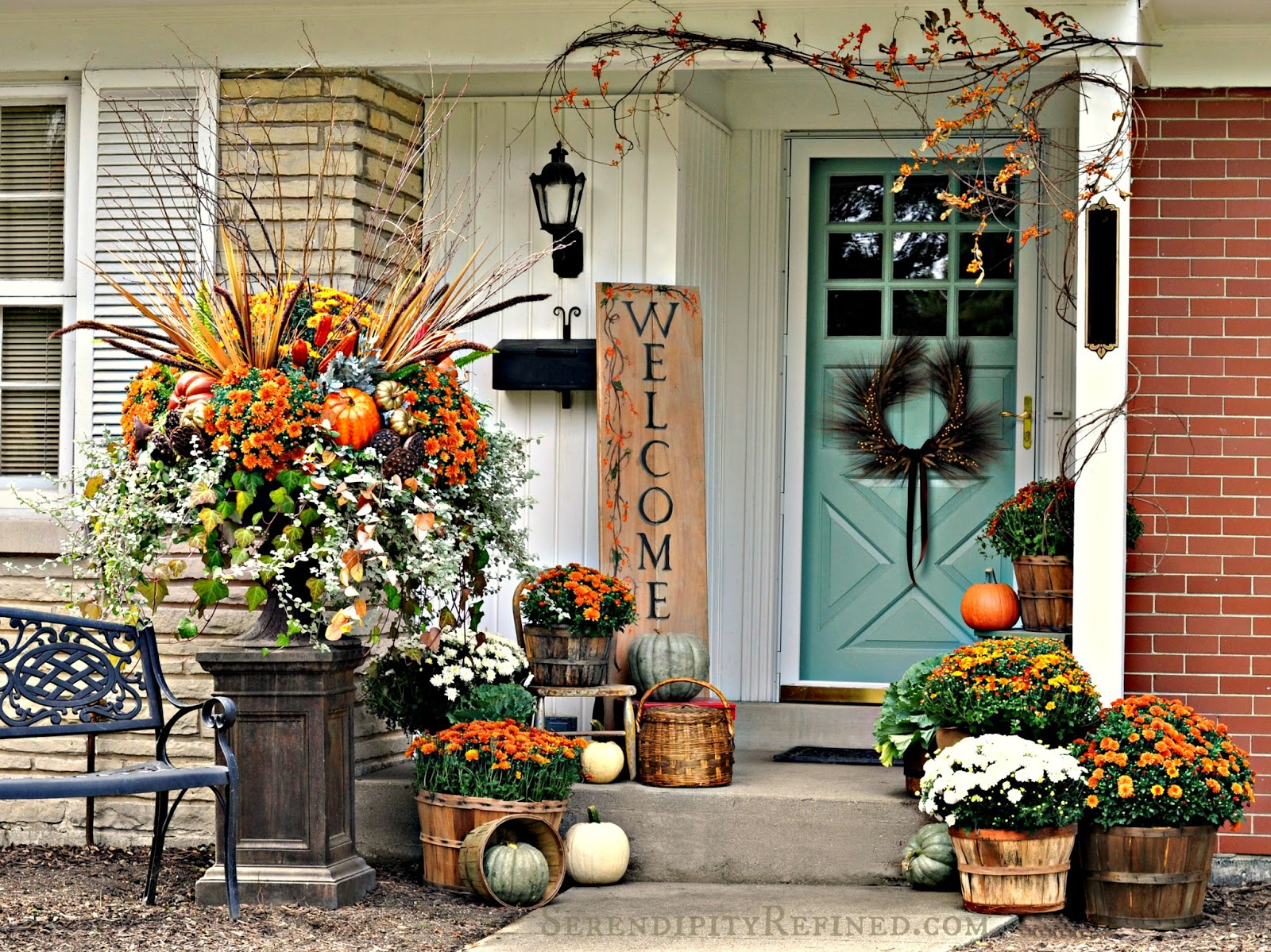 Outdoor Dekoration Fabulous Outdoor Decorating Tips And Ideas For Fall Zing