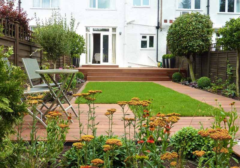 Small Garden Landscape Design Ideas Quiet Corner:small Garden Design Ideas - Quiet Corner