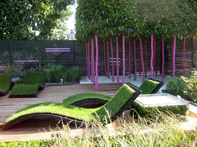 Small Garden Landscape Design Ideas Small Urban Garden Design Ideas - Quiet Corner
