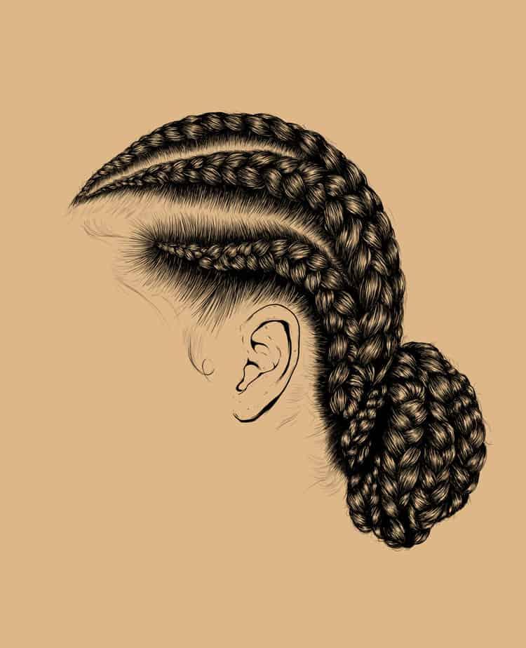 Afro Girl Wallpaper Crown Gerrel Saunders Of Gaks Design Quiet Lunch