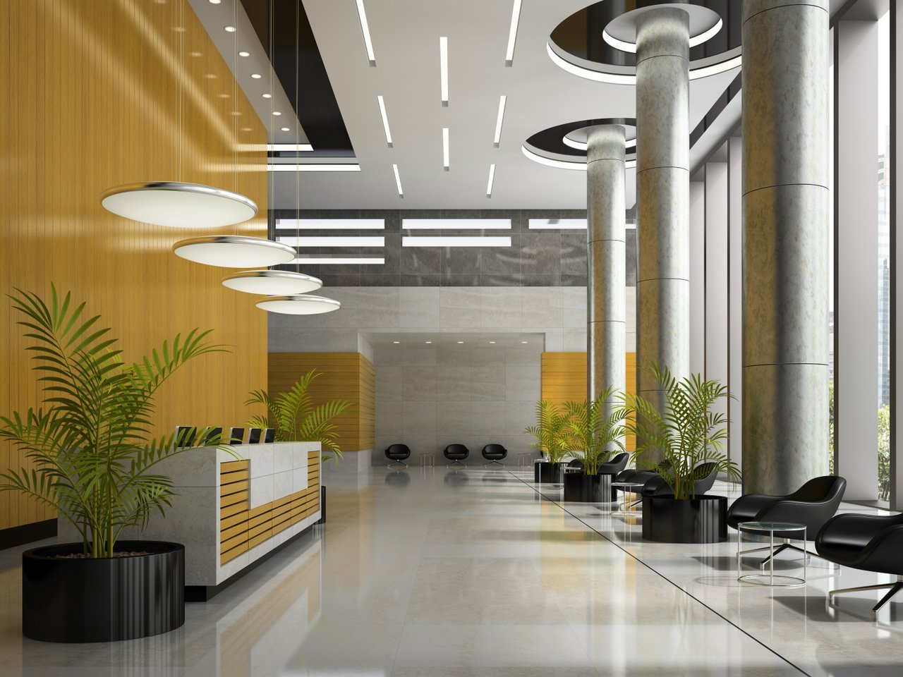 Simple Office Reception Design Office Layout Tricks For An Impressive Reception Area
