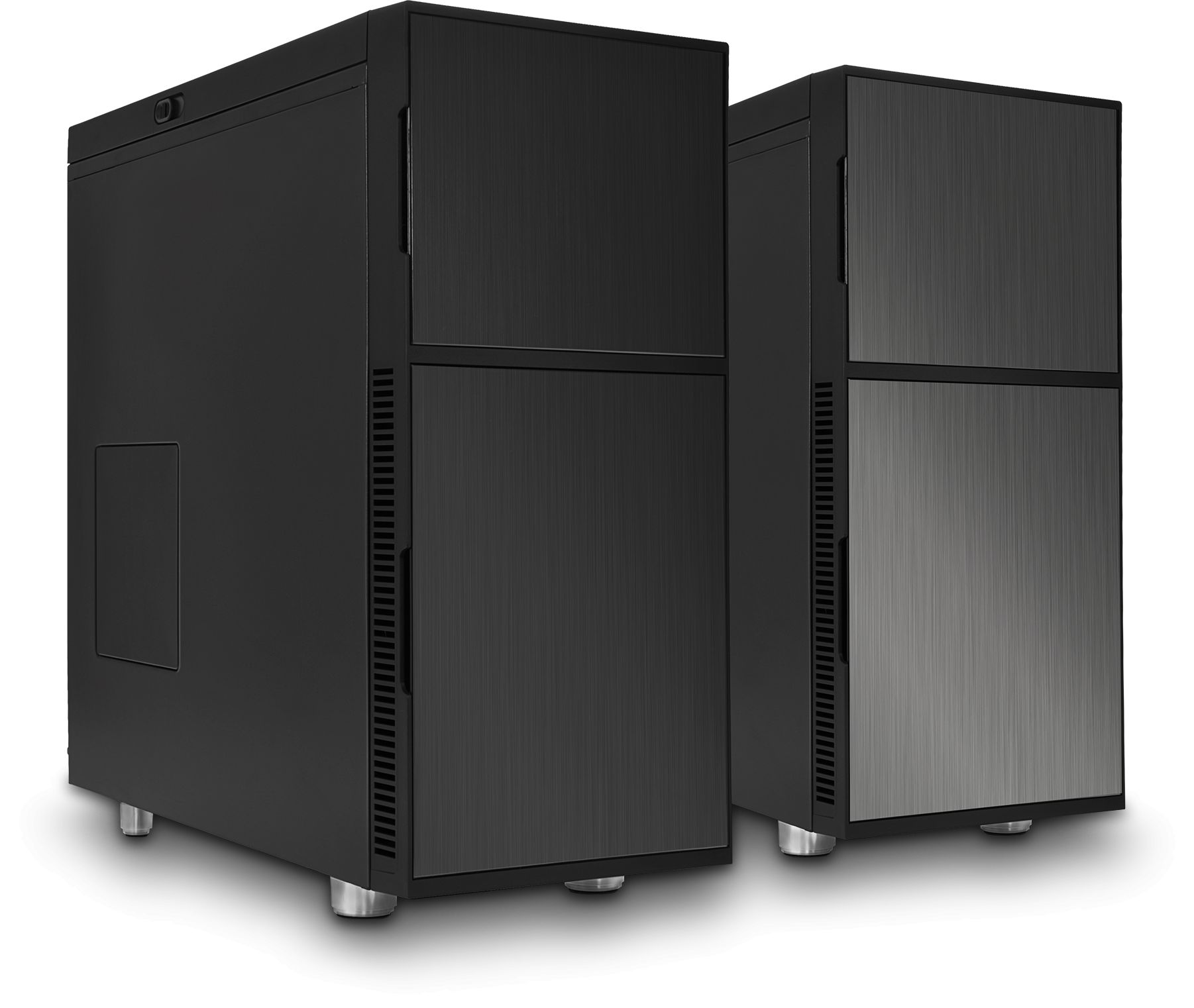 Case Pc Deep Silence 1 Black Rev B Ultimate Low Noise Pc Atx Case