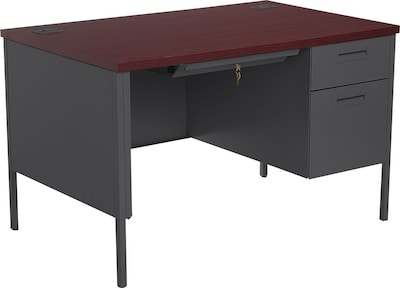 Mahogany Office Desk Hon Metro Classic Small Office Desk 1 Box 1 File Drawer 48
