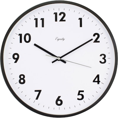 Online Analog Clock Equity By La Crosse 14 Inch Commercial Analog Clock 25509
