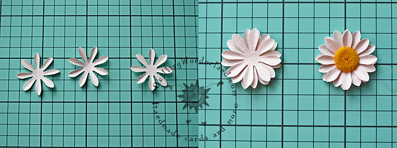 how to make flower in paper step by step