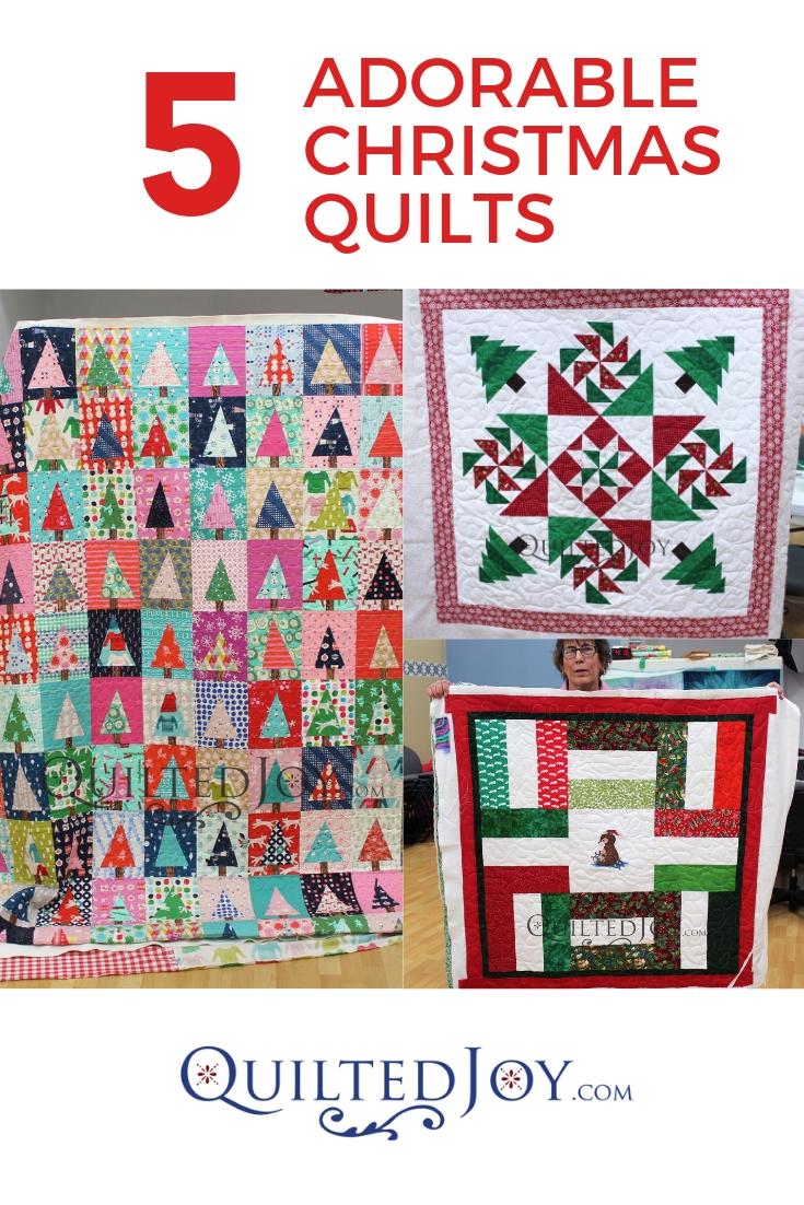 Pinterest Christmas Quilted Wall Hangings 5 Adorable Christmas Quilts From Our Longarm Machine Renters