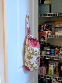 DIY Plastic Grocery Bag Holder