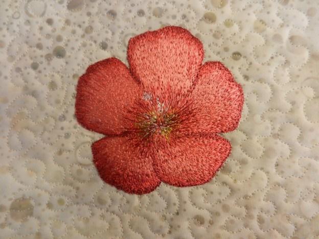 Trådmalet blomst