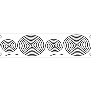 6 inch continuous spirals