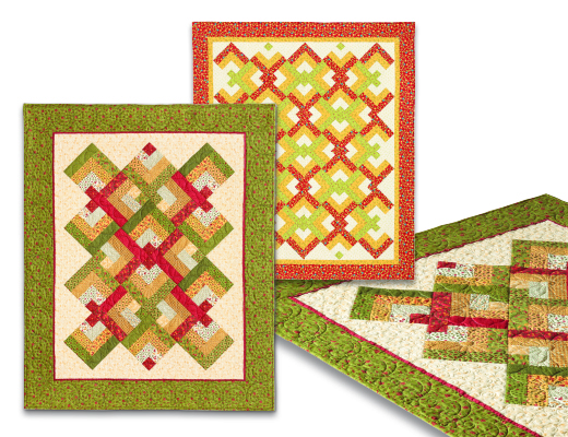 Lover\u0027s Knot Quilt 735272010791 - Quilt in a Day Books