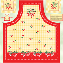 Cherry picked apron panel