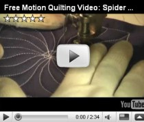 free motion spider_Leah