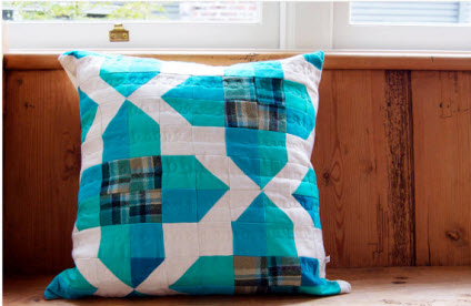 Plaid Windows Pillow Blair Etsy
