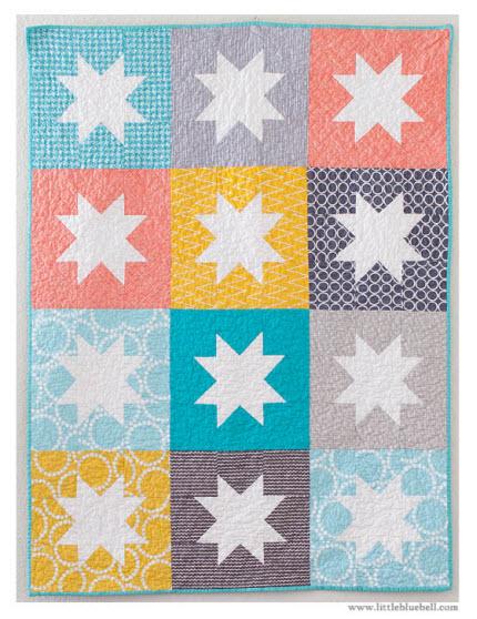 stargazer baby quilt