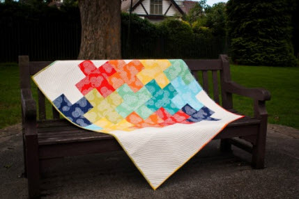 Ta Dah Cross Quilt