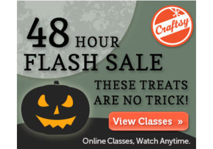 Flash Sale Craftsy