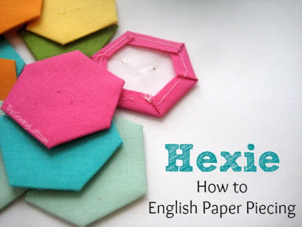 Hexi how to English Paper Piece