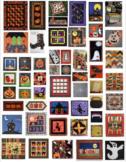 Roundup Halloween Quilts Q Inspiration
