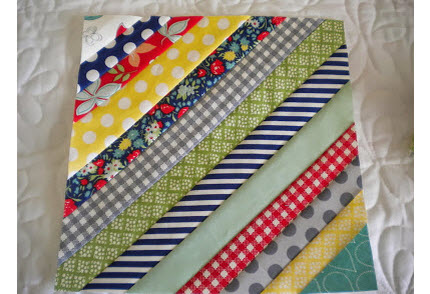 Sherris String Quilt Block Tutorial