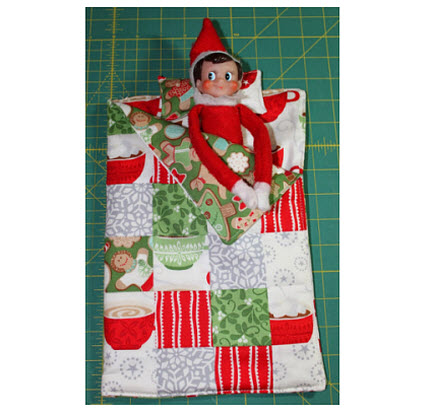 Elfin Sleeping Bag Pillow Moda Bake Shop