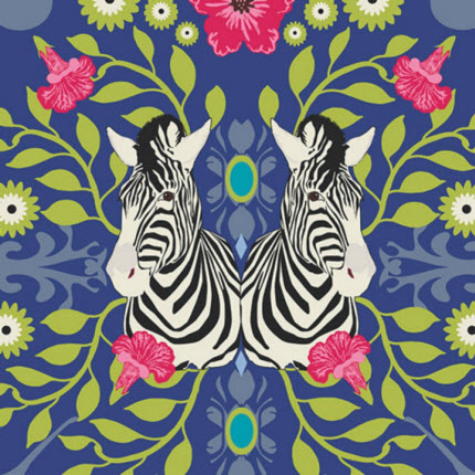 Safari Moon fabric