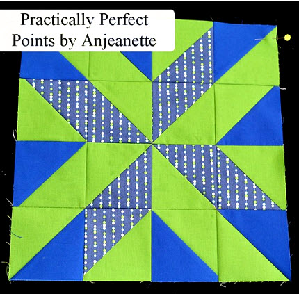 Pretty Points tutorial Anjeanette Klinder