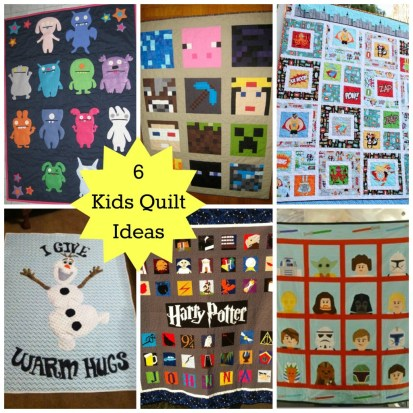 6 kids quilt ideas