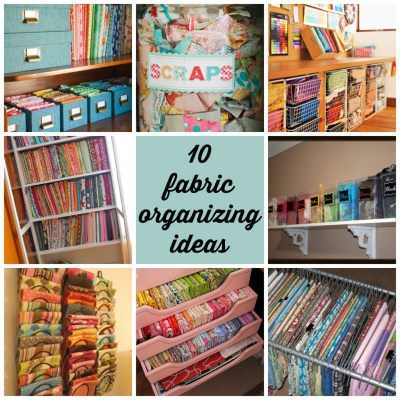 10 fabric organizing ideas