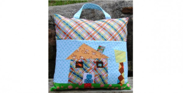OTG Wonky House Pillow Fishsticks