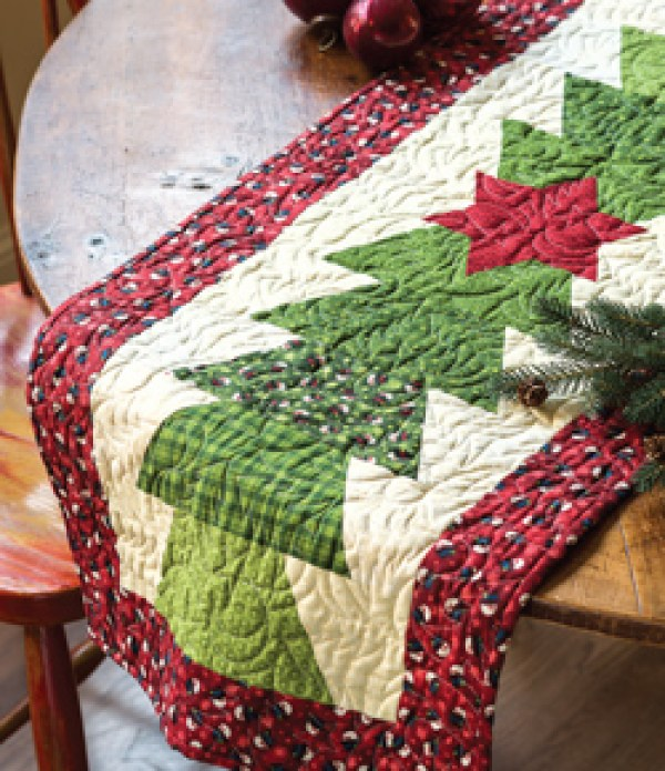 7 Quilted Holiday Table Runners – Quilting
