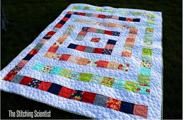 maze quilt free pattern