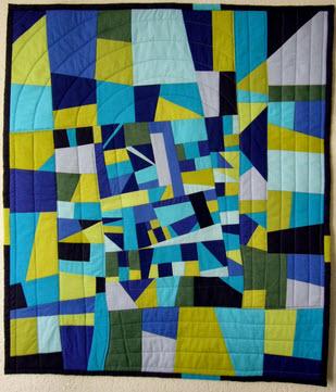 Rumi's scrap quilt