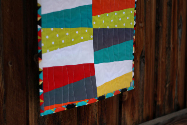 Wonky Wedge Table Runner tutorial