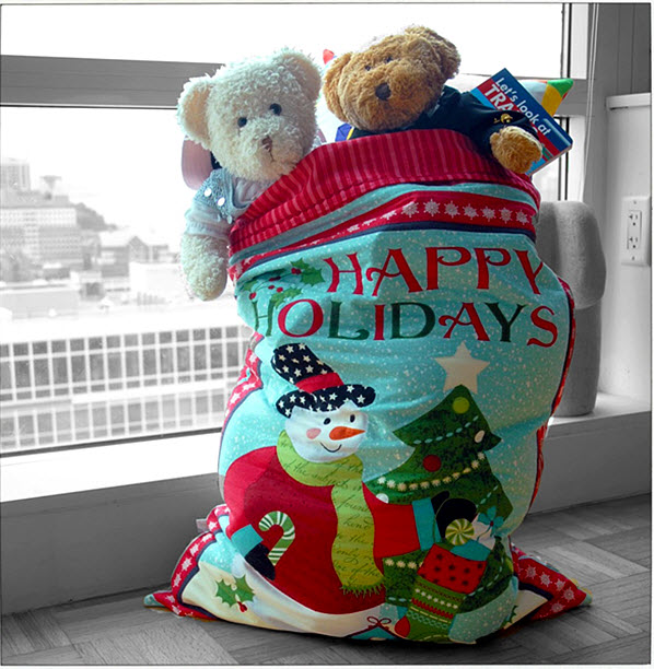 Santa Sack Tute Made by Chrissie