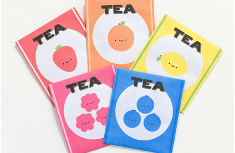 Inspiration: Tea bag printable