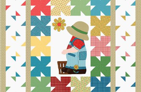 Freebie: Sunny Boy Sam Quilt Pattern