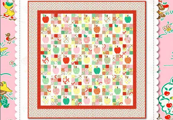 Apple Farm Free Quilt Pattern Penny Rose
