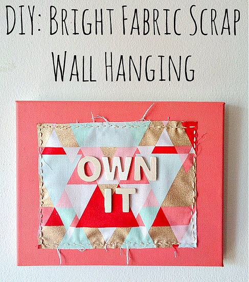 diy-fabric-scrap-wall-hanging